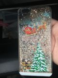 iPhone 6s Plus Christmas glitter moving case
