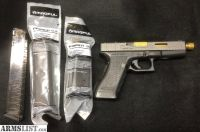 For Sale: Gen 2 G17 Glock, custom slide work, RMR cut, Blacklist barrel