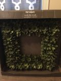 Brand new wood box wreath pier one imports
