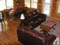$250 / 5 BR - LUXURY LOG CABIN 5 KING SUITE ROOMS (Pigeon Forge Tenn) 5 BR