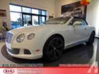 2014 Bentley Continental GTC Base AWD 2dr Convertible