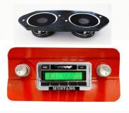 Purchase NEW! 1964-1966 FORD Mustang In-Dash Radio Stereo w/ Speakers USA-230 motorcycle in Millersville, Maryland, United States, for US $199.95