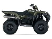 2016 Suzuki KingQuad 500AXi Power Steering - Green Utility ATVs Trevose, PA