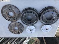 Type3 Rear Drum breaks Complete set 4 bolt pattern