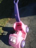 Step 2 pink push car. GUC, missing stickers