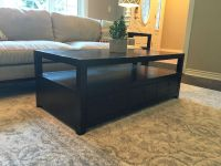 Pottery Barn coffee table and end tables