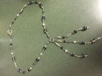 Gorgeous necklace $15 handmade one of a kind glass beads