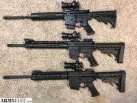 For Sale: AR 15 Rifles