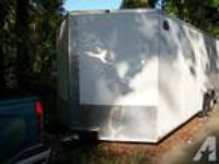 $4,800 OBO 20 2011 20' Hurricane Cargo enclosed car trailer