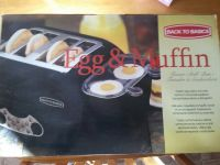 Back To Basics Egg & Muffin Toaster (NIB)