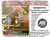 Diagnostics - Repair | Heating and Cooling | Gaskets | Belts | Hoses | Transmission | Engine | Electrical