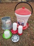 Chicken Feeders and Waterers