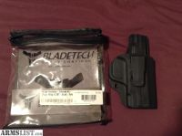 For Sale: Smith and Wesson m&p shield .45 Bladetech holster