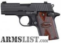 For Sale: $569.00 Sig Sauer 938 ns 9mm