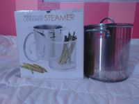 Stainless steel covered steamer 7 Quarts