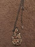 Long beaded coldwater creek necklace