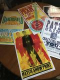 Prints from Hatch Show Print