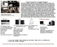 COMPUTERS  XBOX 360  PS3  WII REPAIR  ((GULFPORT))