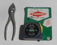 "Buy Diamond Tool & Horseshoe 3439 10' - ""DIA-LOK"" 1/2"" Locking Tape & K35 5"" Plier motorcycle in Winter Haven, Florida, US, for US $40.00"