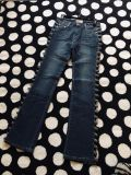 Brand new Platinum embellished cut out jeans