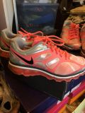 Nike Air Pink/Blk/ Silver size 7 1/2