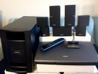 Bose Lifestyle V25 5.1 Channel Home Theater System w iPhone/iPod deck