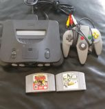 N64 Complete +2 games and 1 controller $40 FIRM