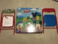 Mickey Mouse Table and 2 chairs