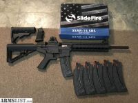 For Sale: S&W M&P 15-22 w/ 6(25)rnd mags and slidefire stock