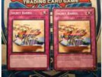 2x Common Secret Barrel - mixed sets, 1LP, 1HP! Yu-Gi-Oh!