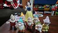 Ceramic and porcelain Disney figurines. Snow white, fairies, characters. See description for prices