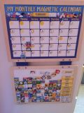 My Monthly Magnetic Calendar for Kids