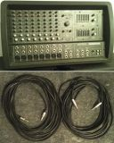 Mackie 808S powered Mixer w/ 50' speaker cables