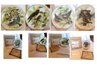 4 Collectible plates - Ursula Band European Bird Series