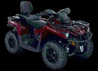 2018 Can-Am Outlander MAX XT 570 Utility ATVs Clinton Township, MI