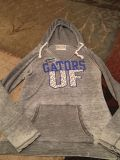 Section 101 lg grey burn out hoodie - Ppu (near old chemstrand & 29) or PU @ the Marcus Pointe Thrift Store (on W st)