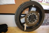 Sell K49 Kawasaki EX250 EX Ninja 250 250R 2006 Front Wheel Rim w Rotor motorcycle in Ann Arbor, Michigan, US, for US $125.00