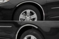 Find SAA WQ53106 2013 Chevy Malibu Fender Trim Wheel Well Car Chrome Trim Polished 3M motorcycle in Westford, Massachusetts, US, for US $104.88
