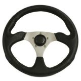 "Sell Rampage Polaris Ranger & RZR 3 Spoke 14"" Steering Wheel with Polished Adapter motorcycle in Buena Park, California, US, for US $79.99"