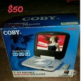 "Coby 7"" V-Zon Portable Widescreen DVD Player"