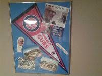 Chicago Cubs Vintage Framed Pictures