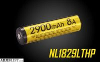 For Sale: NITECORE NL1829LTHP 2900mAh 18650 Low Temperature Resistant High Performance Rechargeable Li-ion Battery BAT-NITE-18650-NL1829LTHP