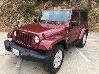 2010 Jeep Wrangler Sahara Sport Utility 2D