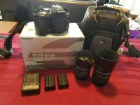 Olympus revolt 510 with 2 lenses and case