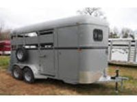 """2017 Valley Trailers 2H BP straight Load w/dress 7'6 x 6'8"""""""