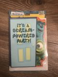 Disney Pixar Monsters Inc ( Party Invitations - ITS A SCREAM-POWERED PARTY!