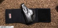 For Sale: Galco Ankle Glove - Left - For Kahr PM9 Size - VGC