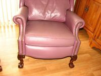 2 Leather Recliners - Reclining Leather Chairs - Bradington Young