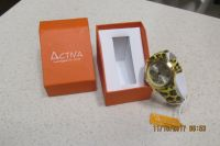 "Great New Leopard Watch By ""Activa"" In Presentation Box - Never Worn! - REDUCED"