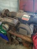 Ammco brake lathe with adapters